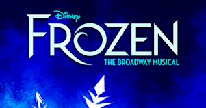 Pôster do musical Frozen na Broadway