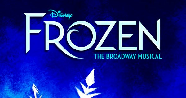 Cartel del musical Frozen en Broadway.